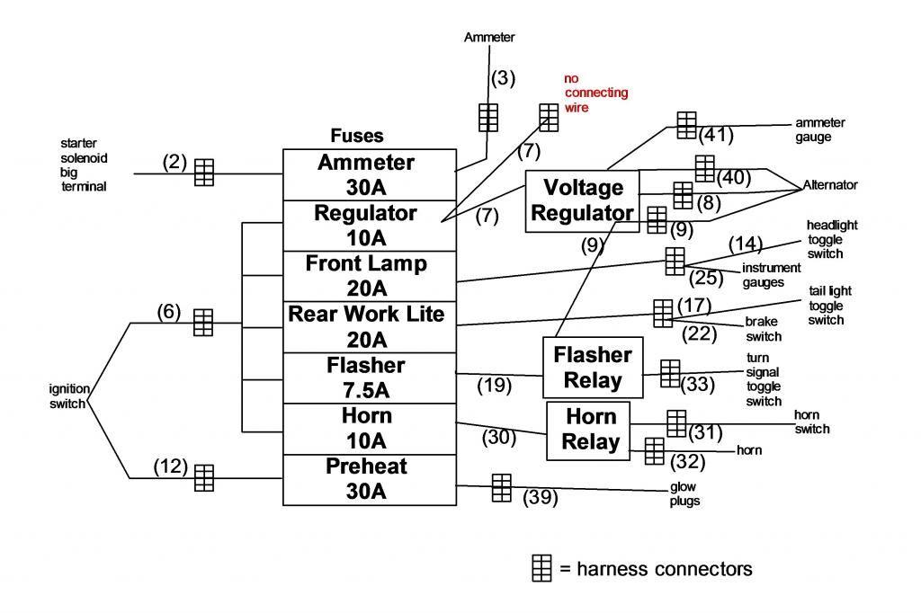 farm pro tractor parts diagram wiring diagram