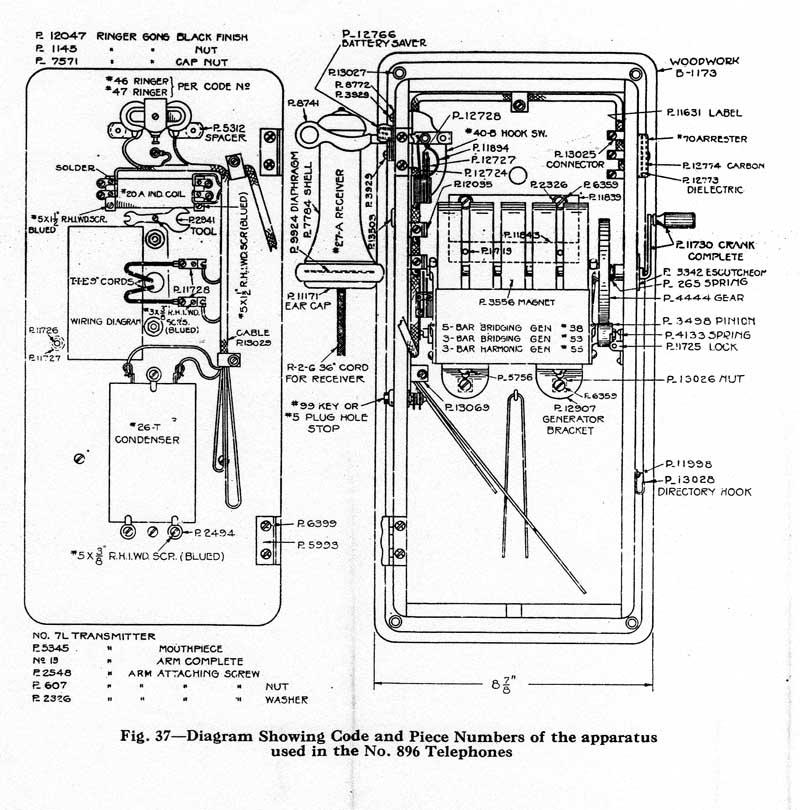 hand crank phone wiring diagram wiring diagram