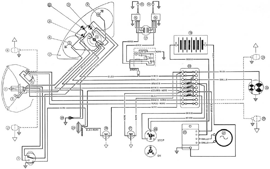 Ducati Wiring Diagram Ducati Wiring Diagrams Instructions