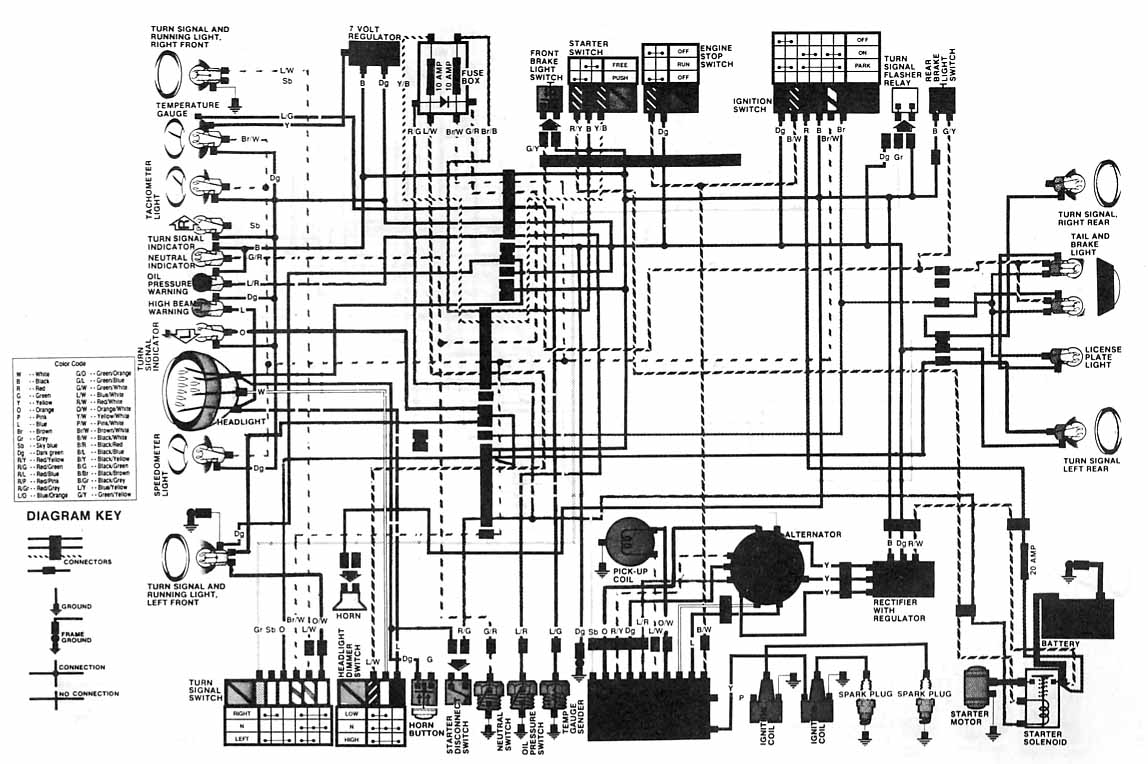 honda cl72 electrical wiring diagram