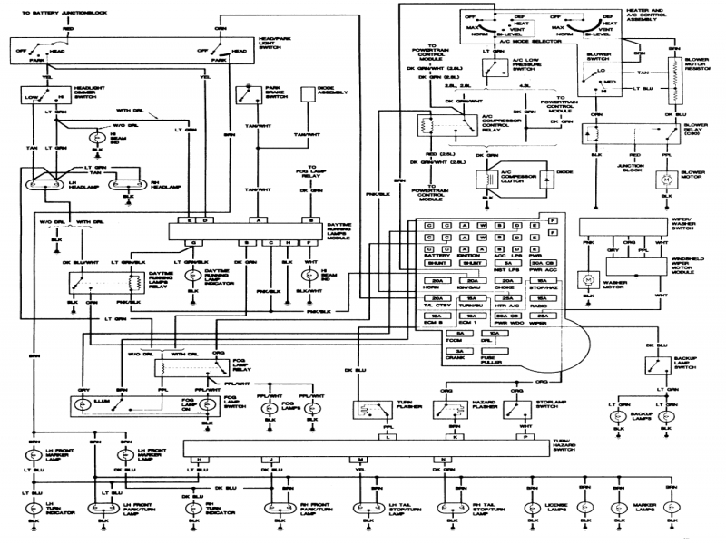 wiring diagram for 1988 chevy s10