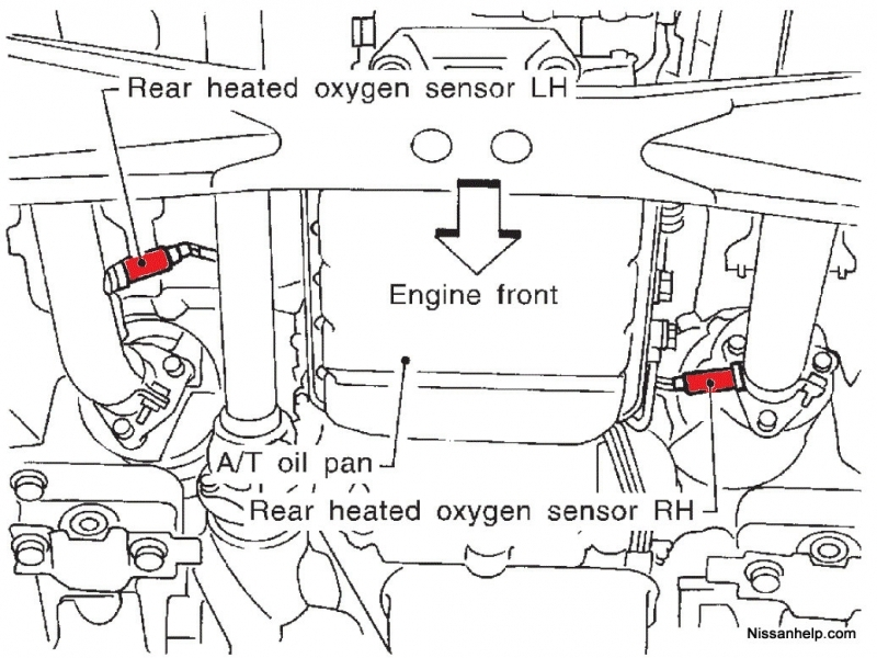 wire oxygen sensor wiring diagram o2 furthermore 4 wire oxygen sensor