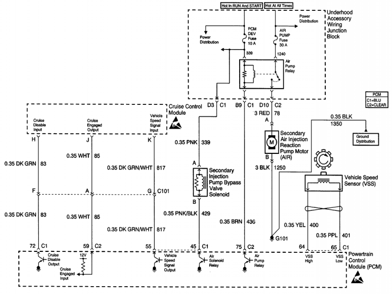 2000 buick regal wiring schematic
