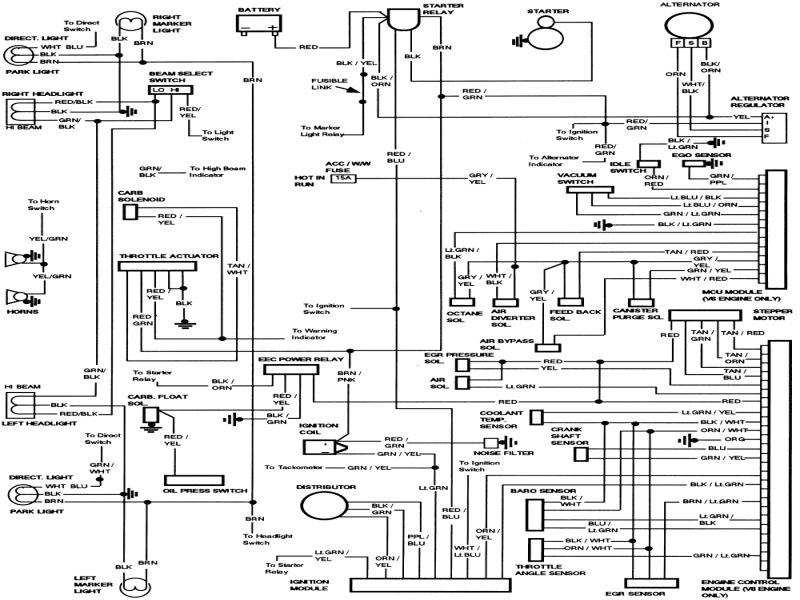 ford factory radio wiring diagram