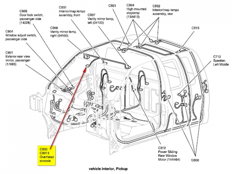 ford f 150 wiring schematic