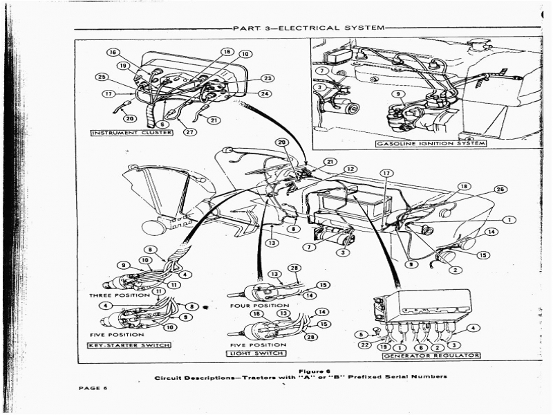wiring diagram ford 5000 tractor