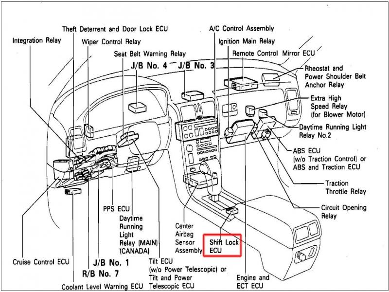 Toyota Tacoma Engine Diagram