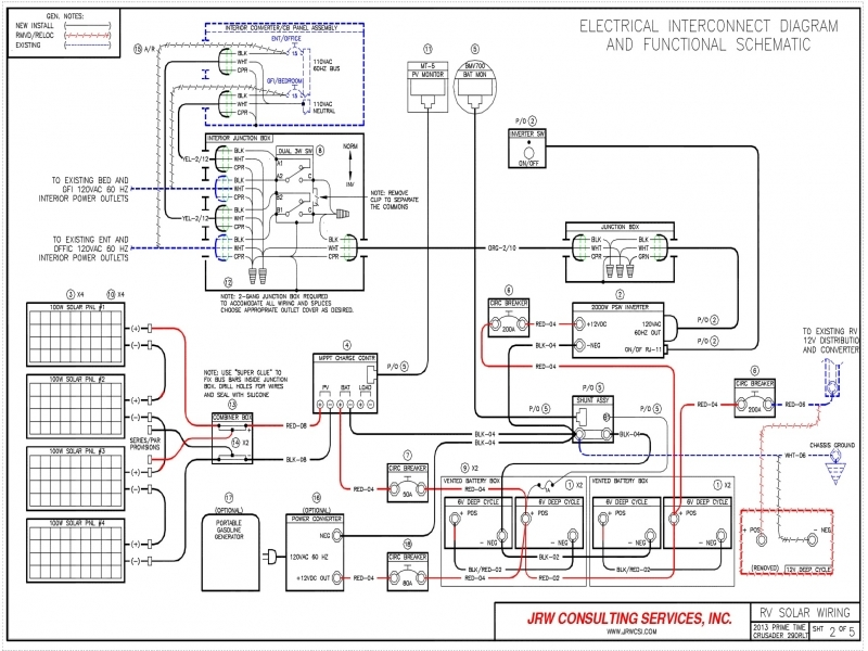 wiring diagram for inverter in rv