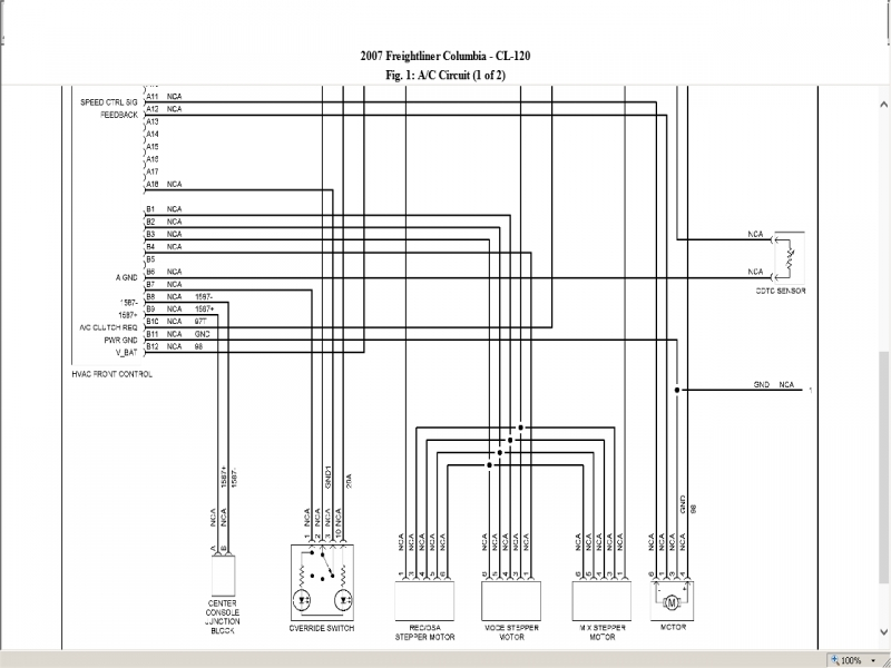 2005 freightliner m2 wiring diagrams a c