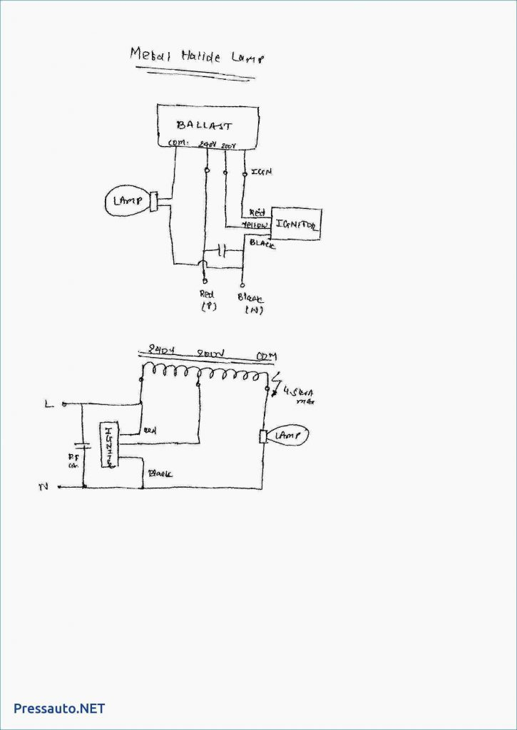 Mh Ballast Wiring Diagram Wirings Diagram