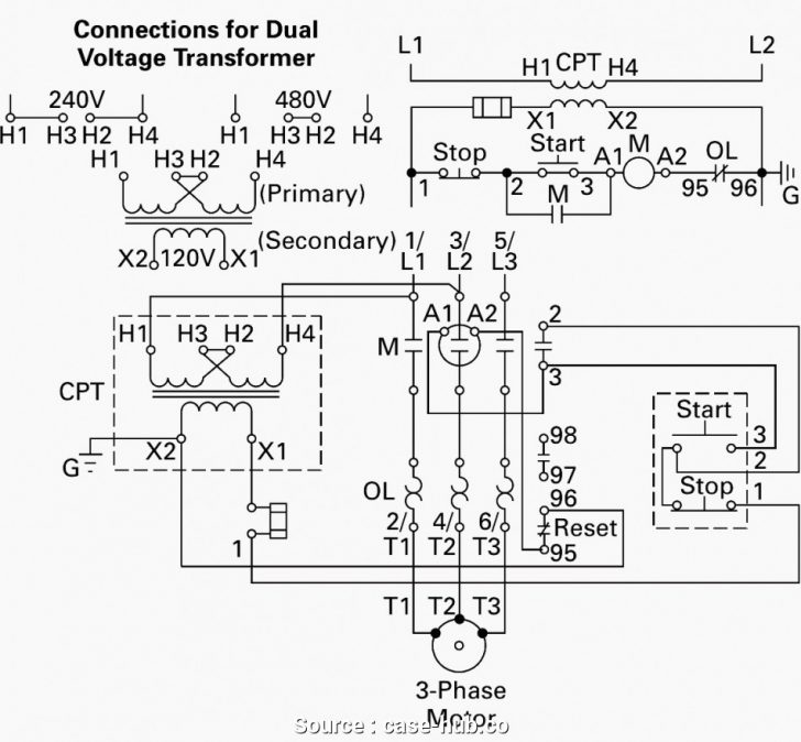 12 lead 3 phase motor wiring diagram Wirings Diagram