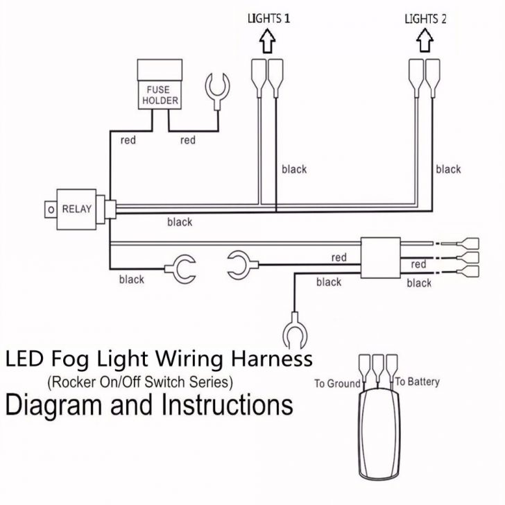 Fog Light Wiring Diagram With Relay Wirings Diagram