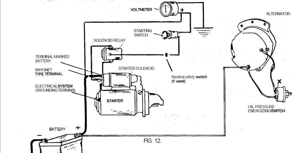 One Wire Alternator Wiring Diagram Ford Wirings Diagram