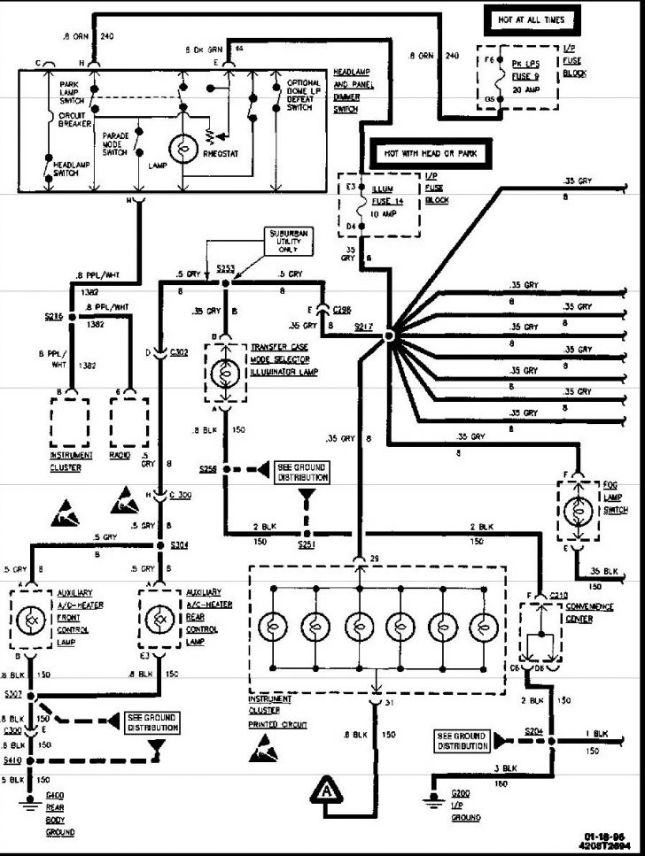 1996 Chevy Silverado Wiring Diagram - Best Place to Find Wiring and