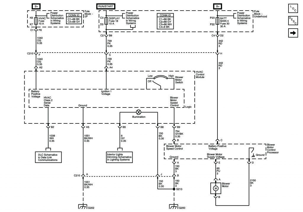 2006 Chevy Silverado Blower Motor Resistor Wiring Diagram Wirings