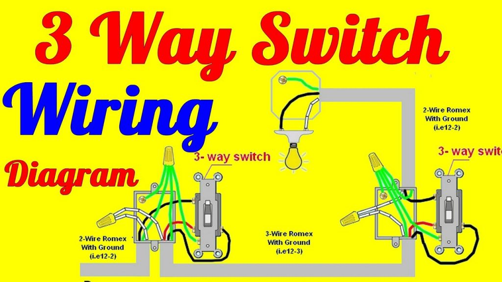 Wiring Diagram For 3 Way Switch Wirings Diagram