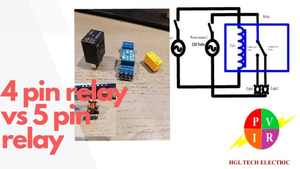 4 Prong Relay Wiring Diagram Wirings Diagram