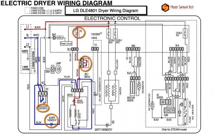 Whirlpool Dryer Plug Wiring Control Cables  Wiring Diagram