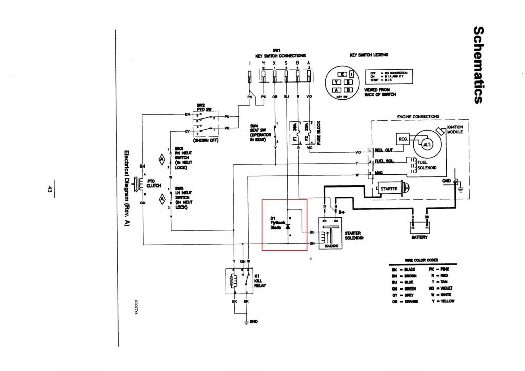 Ignition Switch Wiring Diagram Ford Tractor - Nudohuge