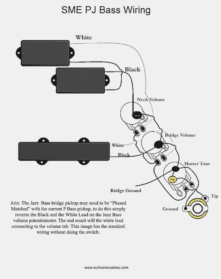 P Bass Wiring Diagram Wirings Diagram