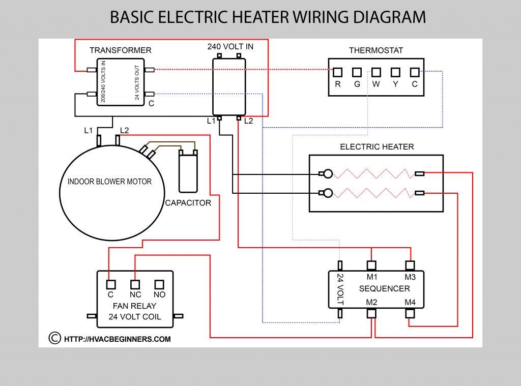 Air Handler Fan Relay Wiring Diagram Wirings Diagram