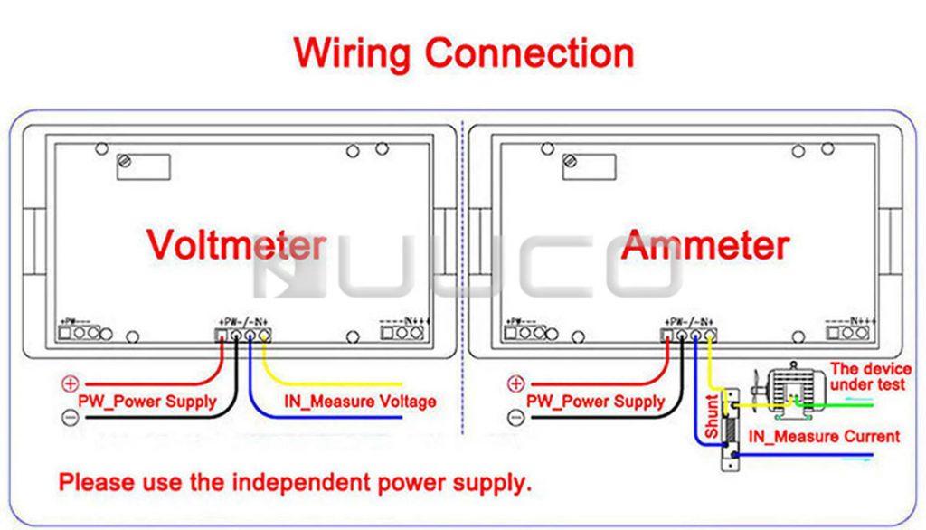 Digital Volt Amp Meter Wiring Diagram Wirings Diagram