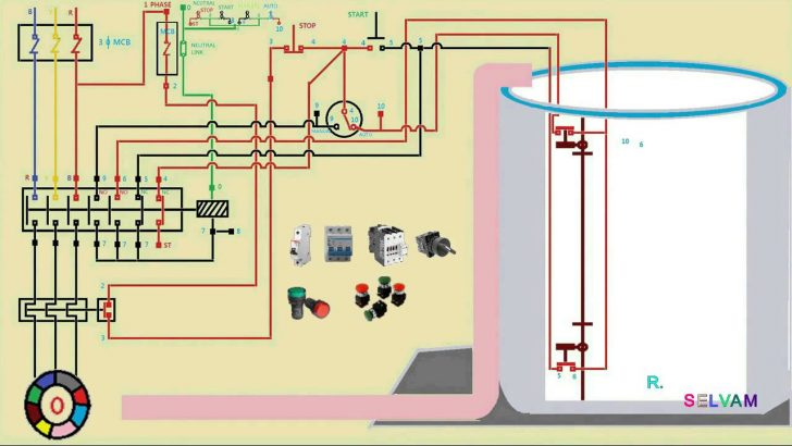 single phase electric house wiring diagram Wirings Diagram