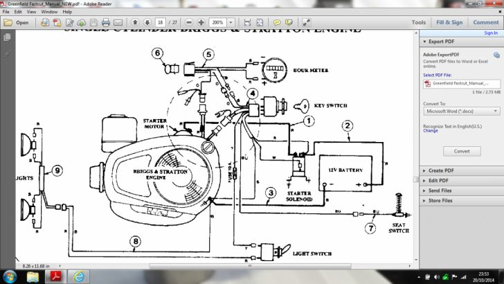 16 hp briggs and stratton engine wiring diagram Wirings Diagram