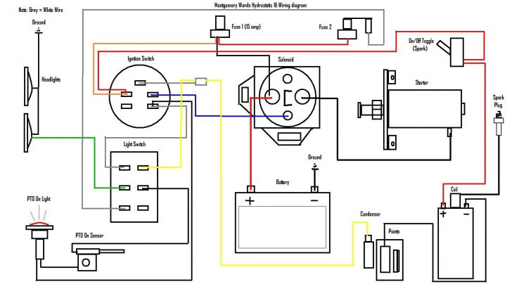 Briggs And Stratton 13 Hp Wiring Diagram Wiring Diagrams