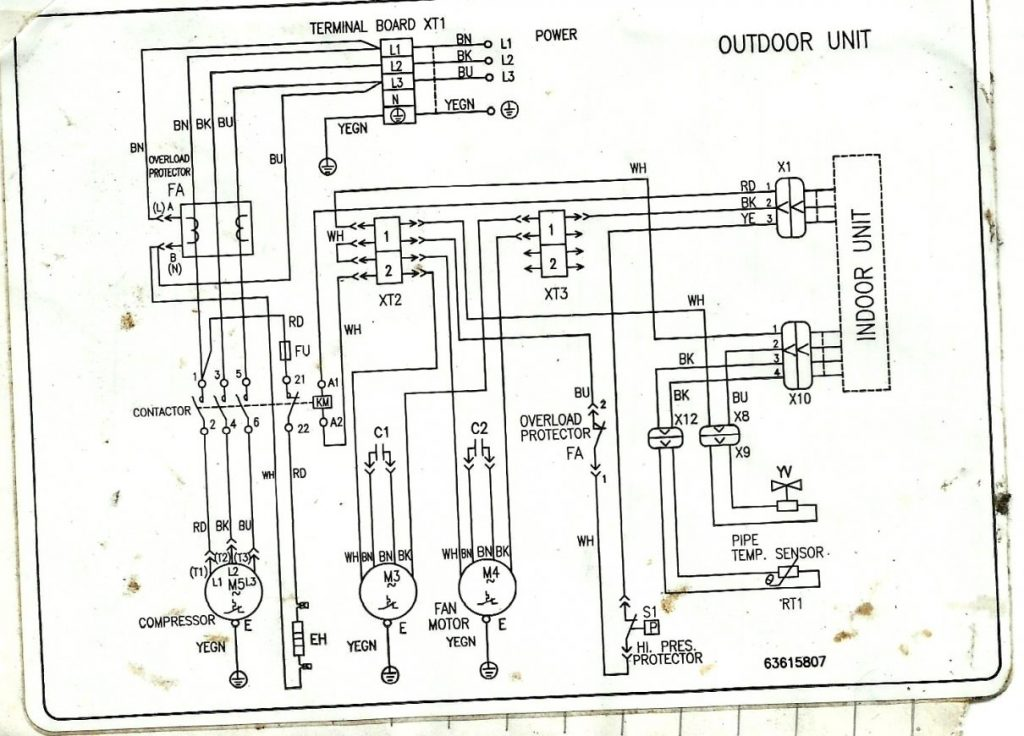 Carrier Contactor Wiring Diagram Wiring Diagram