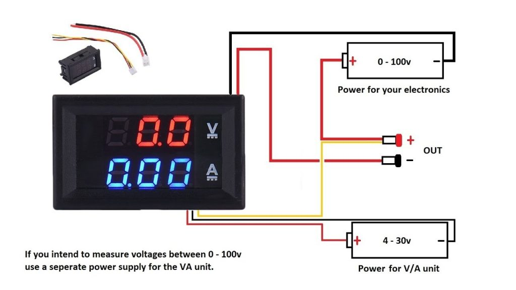 Digital Volt Amp Meter Wiring Diagram Wirings Diagram