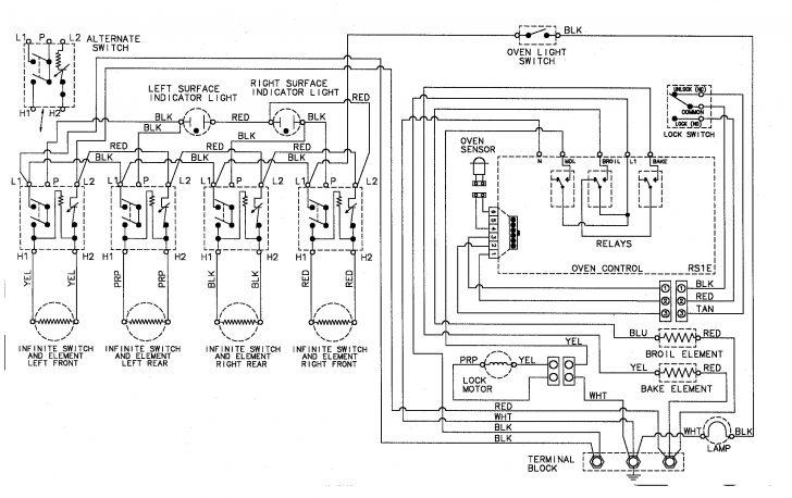 electric stove burner wiring diagram Wirings Diagram