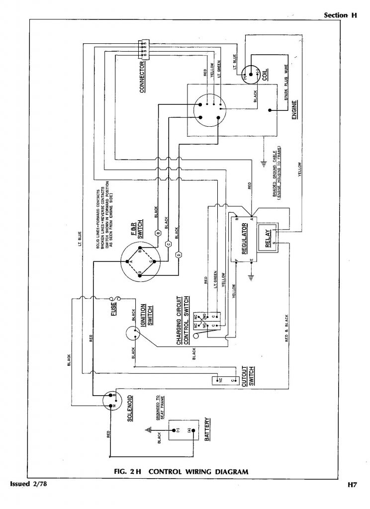 Ez Go Golf Cart Wiring Diagram Gas Engine Wirings Diagram