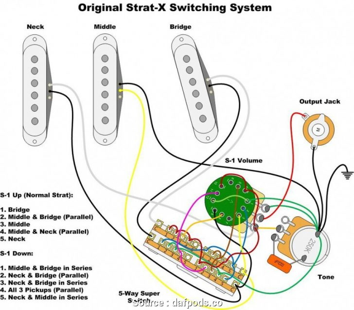 Fender Wiring Diagrams - Wiring Diagram Update