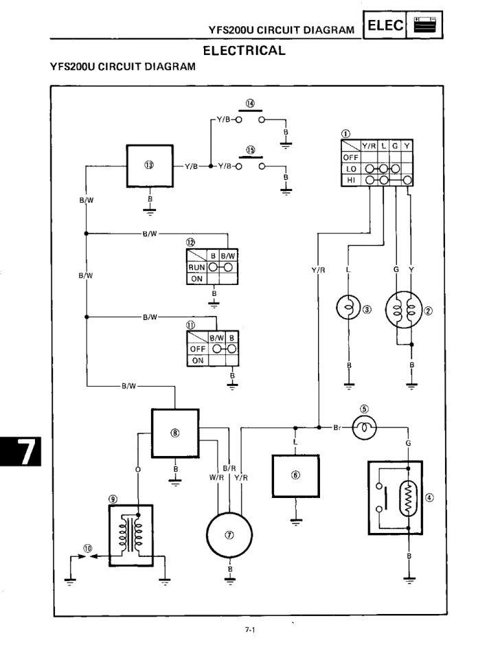 Yfs200 Wiring Diagram Wiring Diagram
