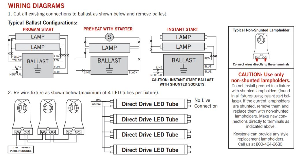 Led T8 Ballast Wiring Diagram technical wiring diagram