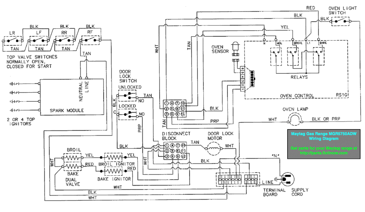 ge stove wiring diagram wires