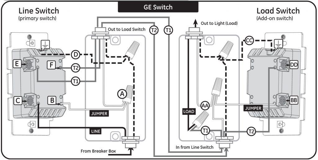 z wave light switch wiring diagram