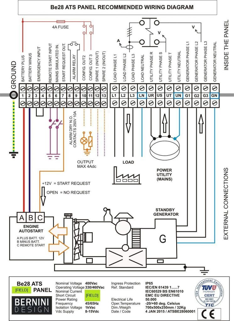 Rv Transfer Switch Wiring Diagram Wirings Diagram