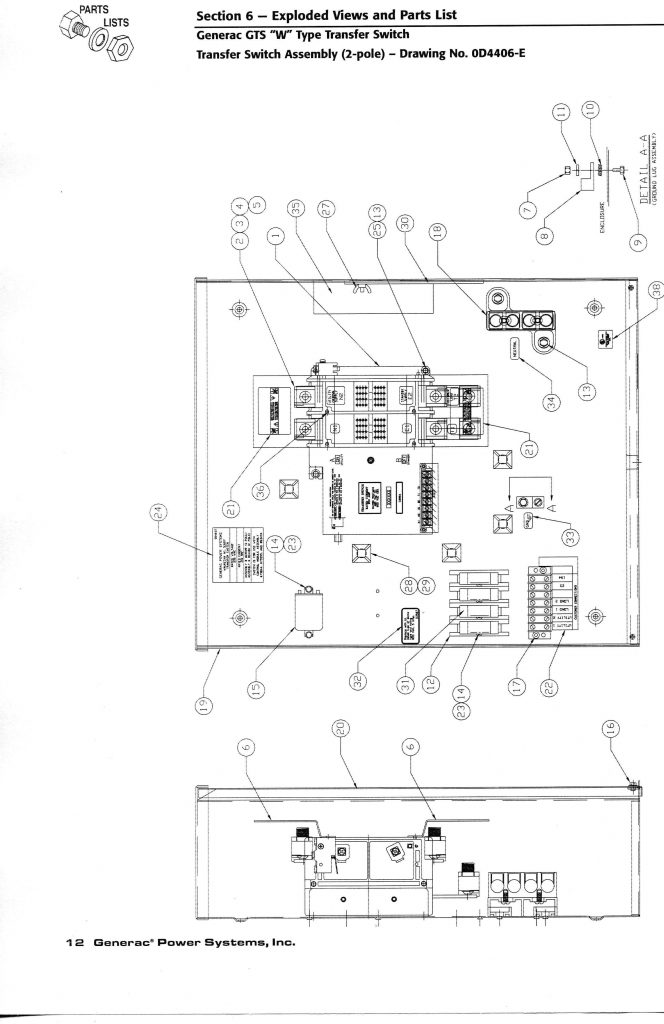 Generac 200 Amp Transfer Switch Wiring Diagram Wirings Diagram