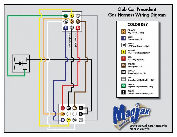 Club Car Wiring Relay Wiring Diagram