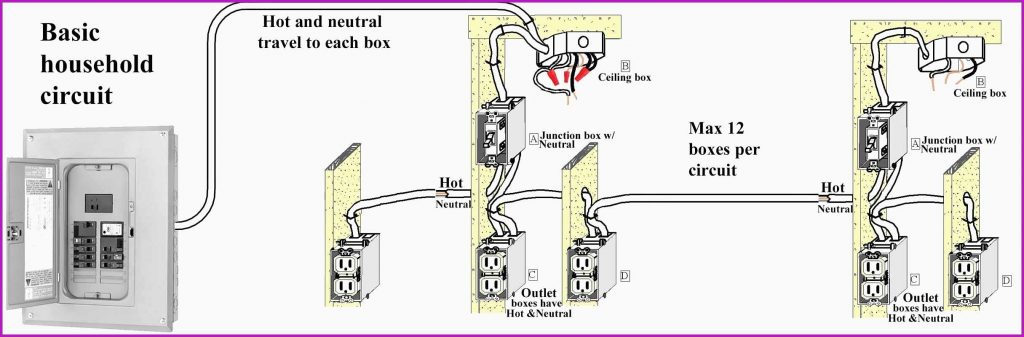 House Wiring Diagram 4 Way Switch Wiring Diagram Multiple Lights How