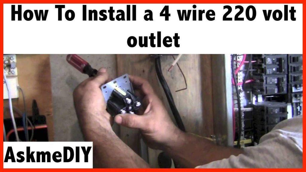 4 Wire 220 Volt Wiring Diagram Wirings Diagram
