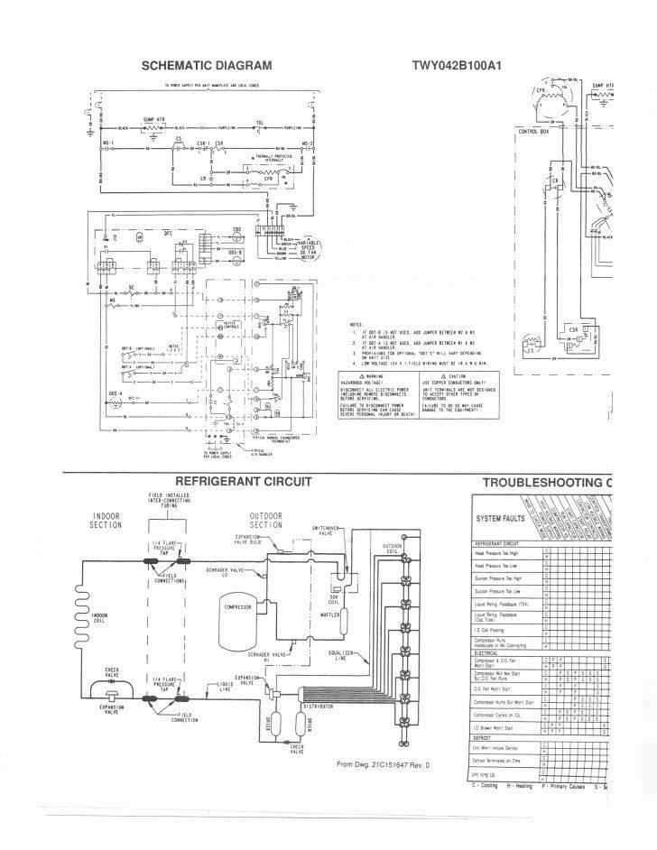 trane heat pump electrical diagram Wirings Diagram
