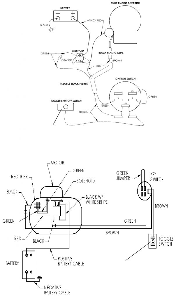 Briggs And Stratton Starter Solenoid Wiring Diagram Wirings Diagram