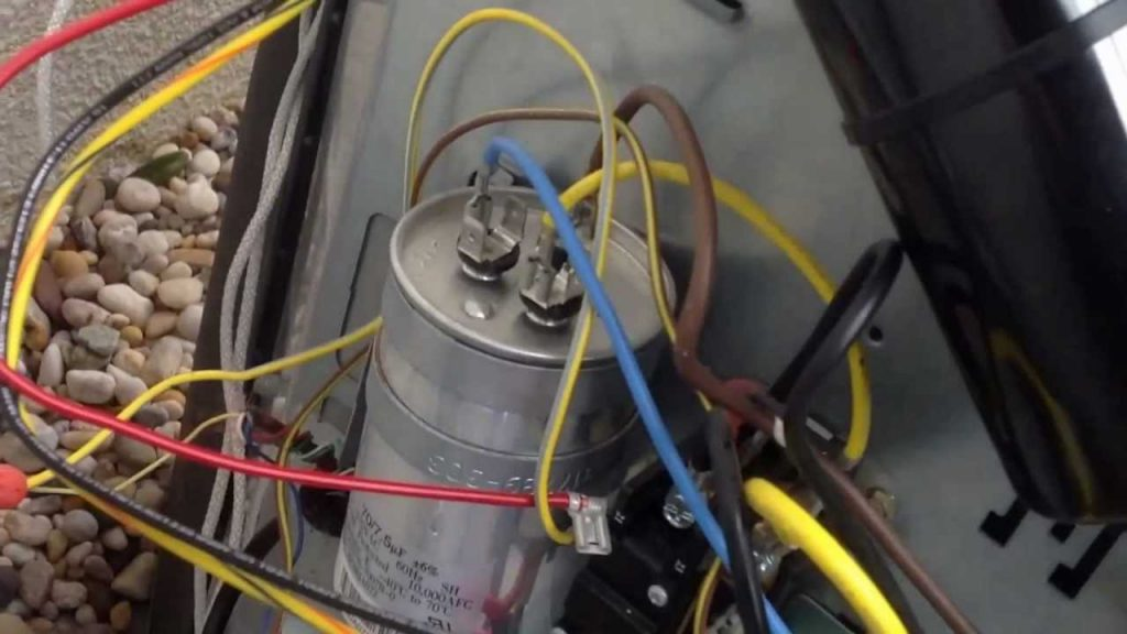 Motor Run Capacitor Wiring Diagram Wirings Diagram