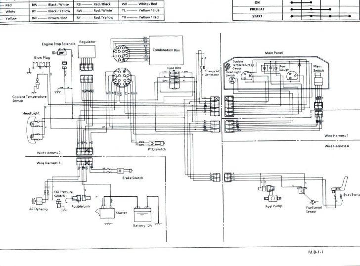 B7000 Kubota Tractor Wiring Diagram Wiring Diagram
