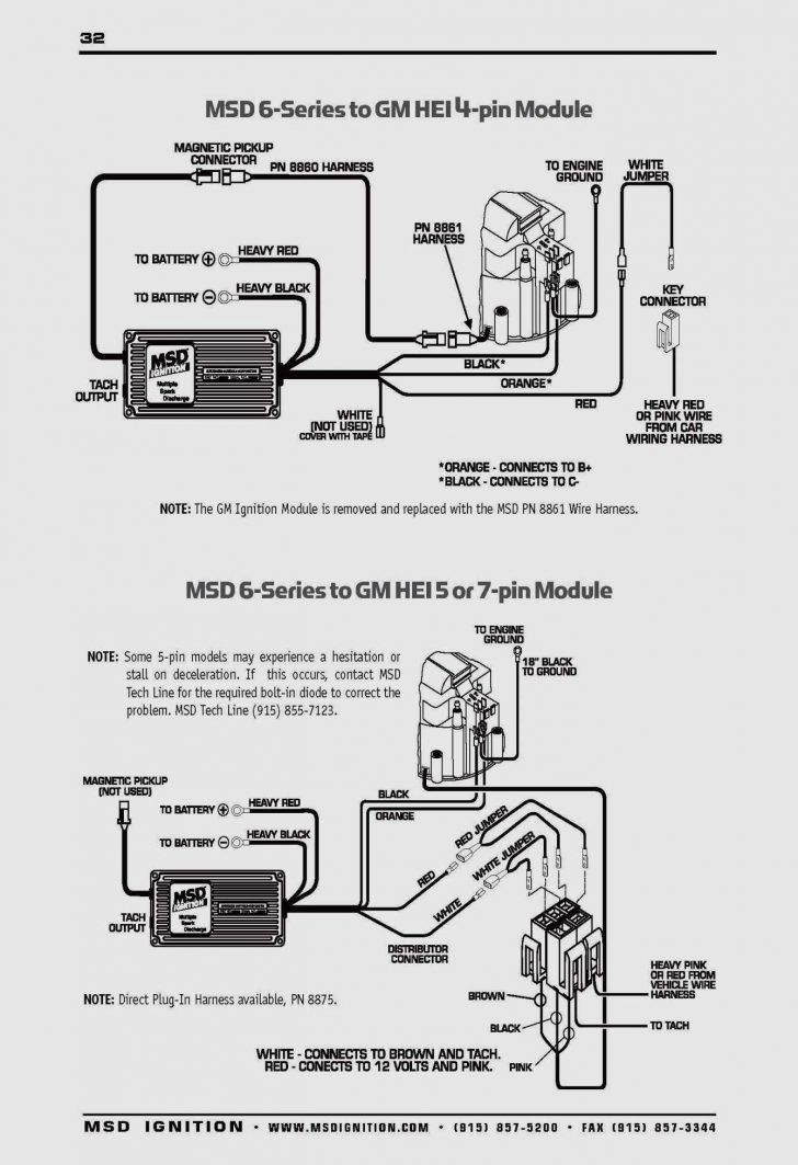 Reluctor Msd Wiring Diagram Wiring Diagram
