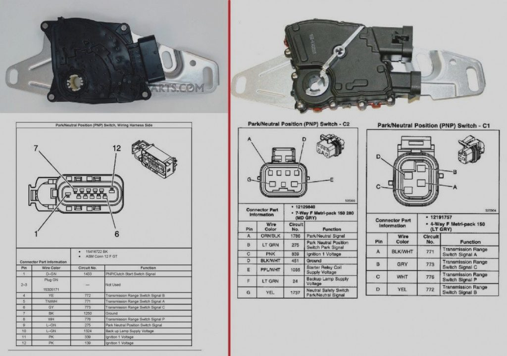 Neutral Safety Switch Wiring Diagram Chevy Wirings Diagram