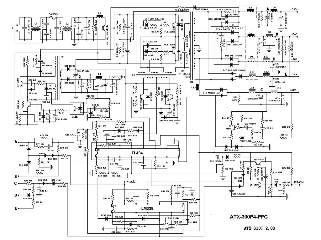 Pc Wire Diagram Wiring Diagram